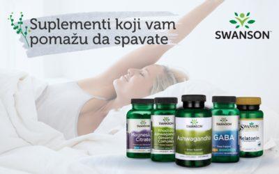 Suplementi za spavanje i njihova naučna osnova