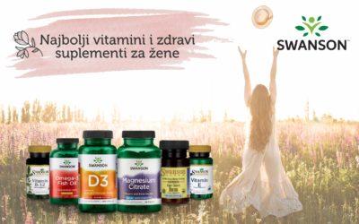 Najbolji vitamini i zdravi suplementi za žene