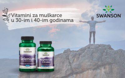 Najbolji vitamini i suplementi za muškarce u 30-im i 40-im godinama starosti