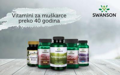 Vitamini i suplementi za muškarce starije od 40 godina